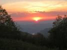 Sunset From Siler's Bald (late-sunset)