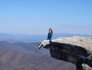 Caitlin On The Edge! by Kerosene in Day Hikers