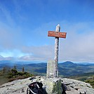 Summit of Saddleback Junior by Kerosene in Trail & Blazes in Maine