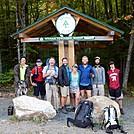 Hikers at Stratton Trailhead by Kerosene in Thru - Hikers