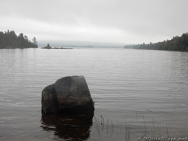 Bald Mountain Pond in Afternoon Gloom