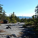 Cairns on Barren Mountain by Kerosene in Views in Maine