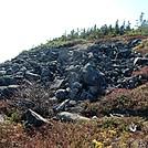 Slide on North Side of Whitecap by Kerosene in Views in Maine