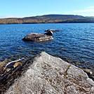 Rocks in Rainbow Lake