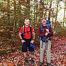Kerosene & Bassman at Daicey Pond Cut-off by Kerosene in Section Hikers
