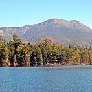 Katahdin over Daicey Pond by Kerosene in Views in Maine