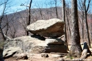 Balanced Rock by Kerosene in Views in Georgia