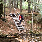 An Aluminum Staircase in the 100 Mile Wilderness??