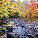 Fall Colors on Pollywog Stream by Kerosene in Views in Maine