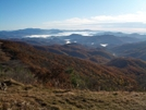Fog In The Valleys From Bald Mountain