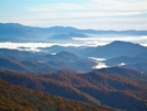 Valley Fog From Bald Mountain by Kerosene in Views in North Carolina & Tennessee