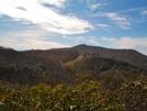 Camp Creek Bald From Blackstack Cliffs