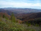 View From Big Firescald Knob by Kerosene in Views in North Carolina & Tennessee