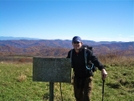 Kerosene At Trail Sign Atop Max Patch