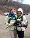 Requisite Starbucks Before Climbing Catawba Mountain!