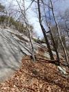 Sunshine & Caitlin Atop Rockface by Kerosene in Day Hikers