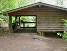 Carter Gap Shelter by Kerosene in North Carolina & Tennessee Shelters