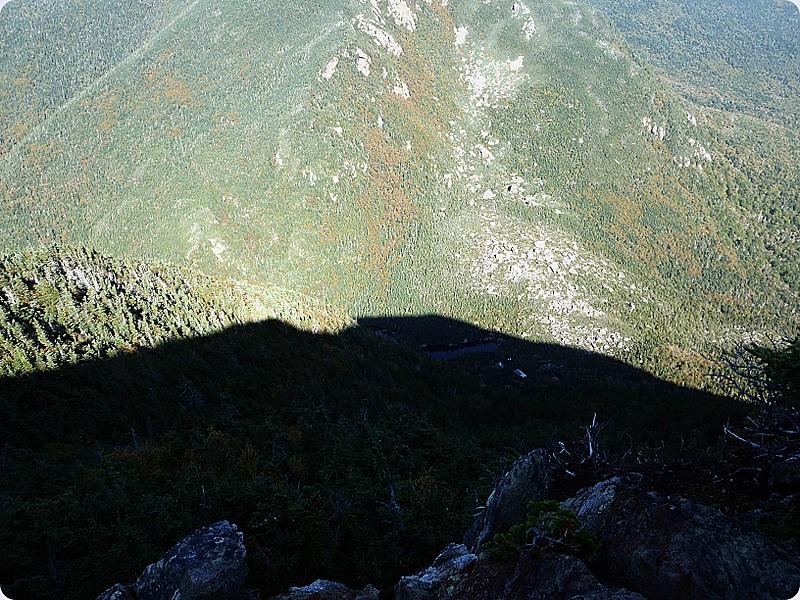 Steep Descent to Carter Notch Hut
