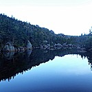 Carter Pond Reflection by Kerosene in Views in New Hampshire