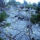 Sheer Rock Wall in Mahoosuc Notch by Kerosene in Views in Maine