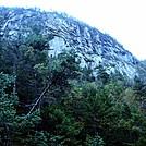 Cliffs above Mahoosuc Notch