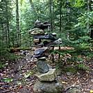 Cairn Sculpture by Kerosene in Trail & Blazes in Maine