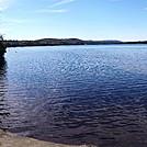 Little Sandy Beach at Long Pond by Kerosene in Views in Maine