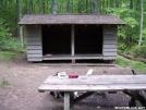 War Spur Shelter by Kerosene in Virginia & West Virginia Shelters
