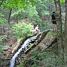 Hertlein Campsite waterfall