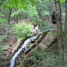 Hertlein Campsite waterfall