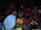 Campfire circle at Standing Bear Farm