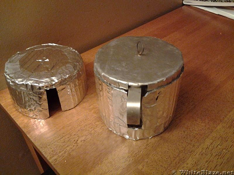 DIY Reflectix Pot Cozy, pic 2.