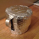 DIY Reflectix Pot Cozy, pic 3.
