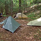 Camp by Tuckahoe in Tent camping