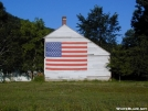 Flag on Barn by Buddman in Views in Maine
