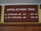 Sign At Green Mountain House by Jeff in Hostels