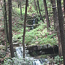 appalachian water falls by Minnitonka in Trail & Blazes in New Jersey & New York