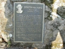 Benton MacKaye Plaque by Youngblood in Springer Mtn Gallery