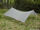 Hammock Tarptent – Wide pitch 1