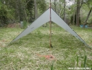 Hammock Tarptent – Narrow pitch 2 by Youngblood in Hammock camping