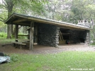 Mollies Ridge Shelter by Youngblood in North Carolina & Tennessee Shelters