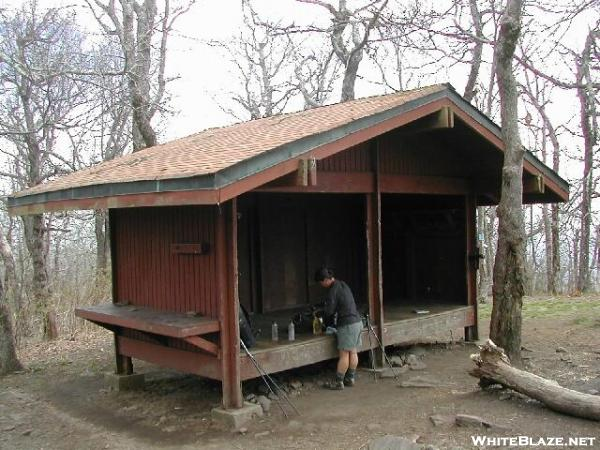 AT Shelters TrayMtn Tray Mountain Shelter - Appalachian trail shelters map