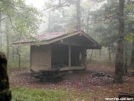 Whitley Gap Shelter by Youngblood in Whitley Gap Shelter