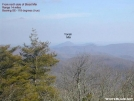 Yonah Mtn from north side of Blood Mtn