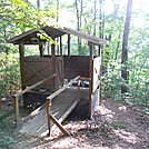 Hawk Mountain Shelter and Privy 2012