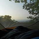 Sunrise on Big Cedar Mountain by Suckerfish in Trail & Blazes in Georgia