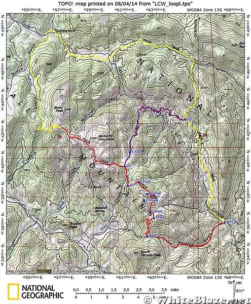 Lost Creek Wilderness Loop