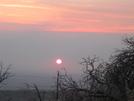So Ca Sunrise In The Wildfire Smoke