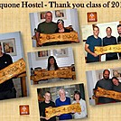 Thanks you Class of 2015 by Aquonehostel in Thru - Hikers