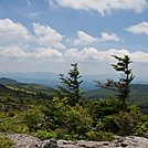 View from Wilburn Ridge at Grayson Highlands